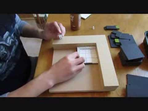 How to Make Hirst Arts D&D Dungeon Tiles - Part One: Pouring. Bases and Gluing