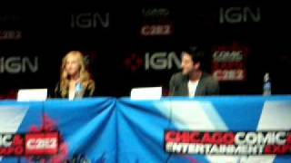 C2E2: Michael Trevino, Candice Accola, and Julie Plec talk about TC
