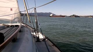Magic Carpet, a Ranger 23, sailing on San Francisco Bay