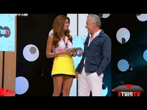 Stamatina Tsimtsili Beautiful Greek Tv Presenter 18.09.2012
