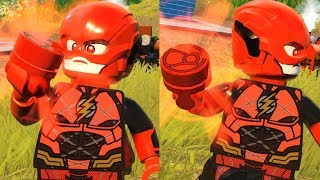 LEGO DC Super Villains - Red Lantern Flash (Custom Speedster)