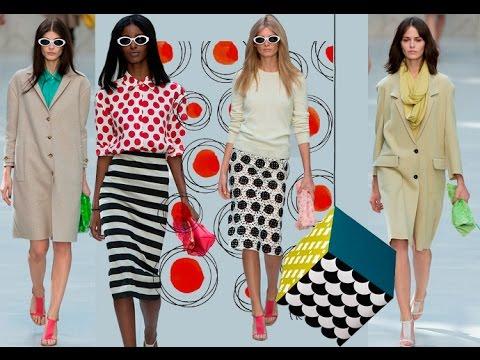 Модные тренды лета фото