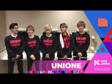 『KCON 2018 JAPAN』Message From UNIONE