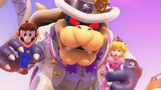 Super Mario Odyssey - Dark Bowser Boss Battle