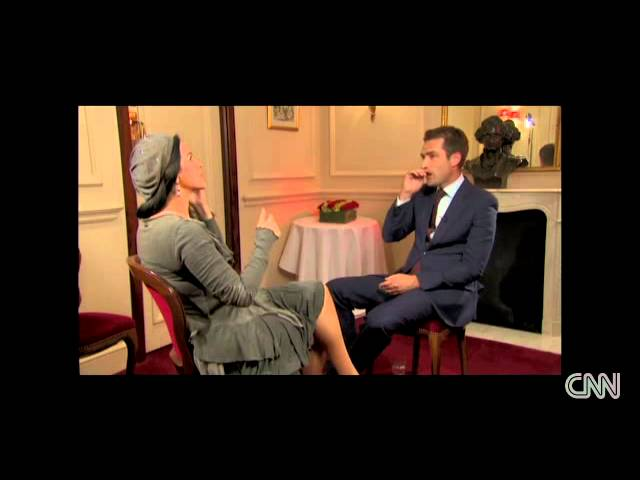 Angela Gheorghiu talks to Max Foster - Interview for CNN - November 2011
