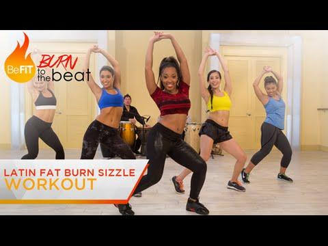 Latin Fat Burn Sizzle Workout: Burn to the Beat- Keaira LaShae...