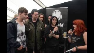 Ashes to Angels TBFM Interview Download Festival 2016