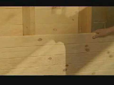 How To Install Knotty Pine Paneling Youtube