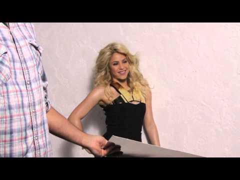 [facebook.com/shakiraineditos]   Shakira, nuevas imágenes para la revista Elle