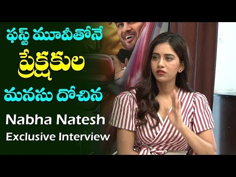 Nabha Natesh  Exclusive Interview | Nannu Dochukunduvate Movie | Film Jalsa
