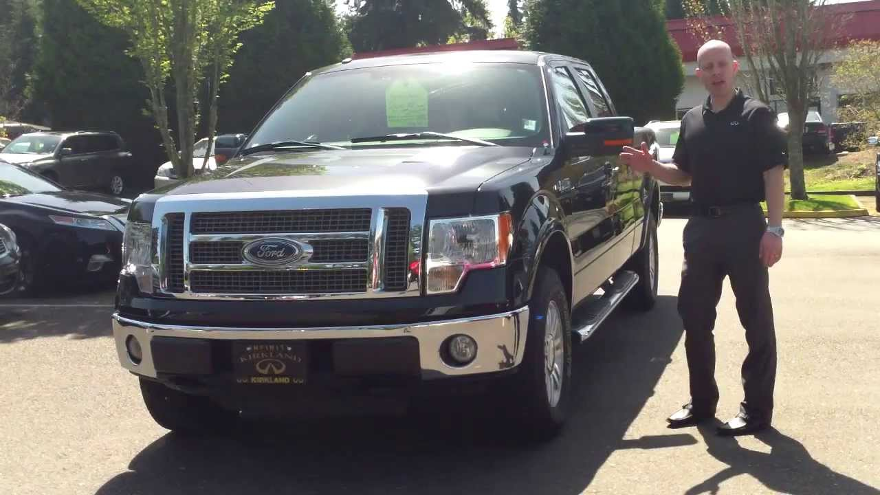 2010 Ford F150 Lariat 4x4 Crew Cab Review In 3 Minutes