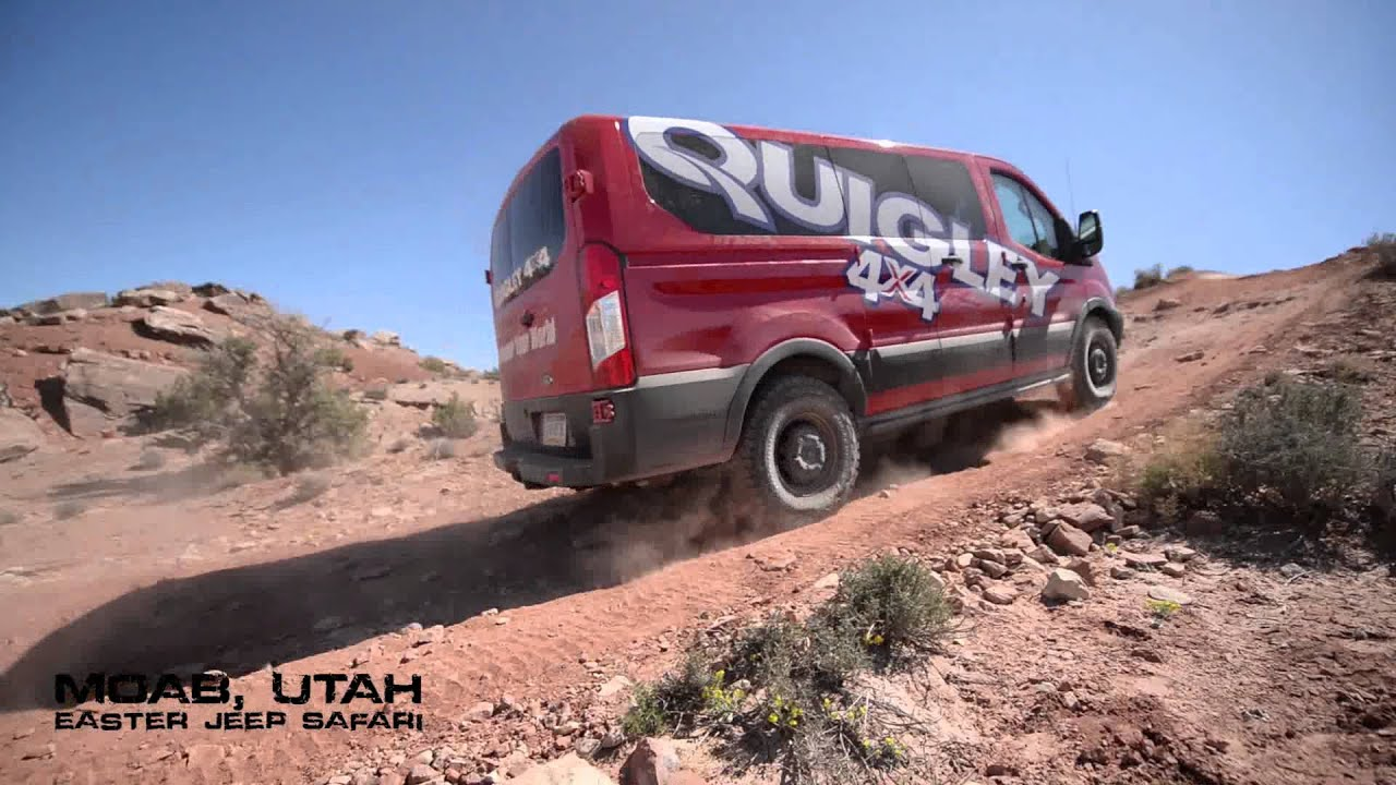 Quigley Motors 4×4 Ford Transit Takes on the 2015 Easter