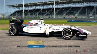 F1 2014: Williams Martini Racing Skin (60fps!)