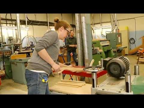 North Island College Joinery Program – Shaw TV Port Alberni