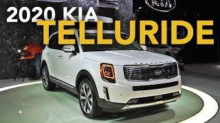 2020 Kia Telluride First Look - 2019 Detroit Auto Show