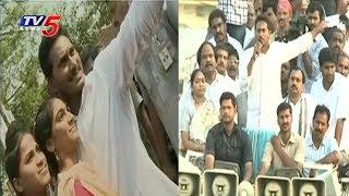 రైతుల జీవితాలతో ఆడుకుంటున్న చంద్రబాబు..! | YS Jagan Praja Sankalpa Yatra At Prathipadu