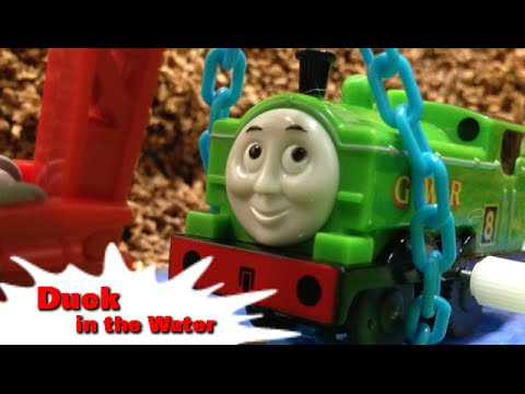 トーマス プラレール ガチャガチャ ダックはみずがすき! Tomy Plarail Thomas Duck in the Water