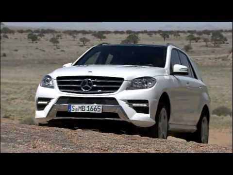 Mercedes 2012 ML250 4MATIC BlueTEC Trailer