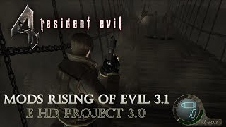 Resident Evil 4 PRO - Mods Rising of Evil 3.1 e HD Project 3.0 #5