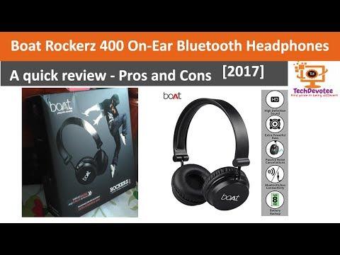 [2017] Boat Rockerz 400 Bluetooth Headphones | Quick review
