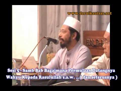 Kuliah Sahih Bukhari Kitab Wahyu 220406 terjemahan