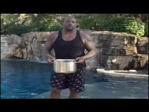 Shaq Ice Bucket Challenge ALS I Nominate Obama, Al Sharpton & Johnny Fooball!!!