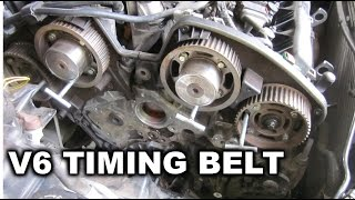 Peugeot 406 V6 - Changing Timing Belt