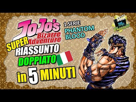 JOJO - Phantom Blood SUPER RIASSUNTO DOPPIATO in 5 minuti!