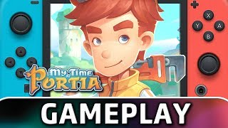 My Time at Portia | First 15 Minutes on Switch