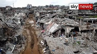 Marawi: all but destroyed