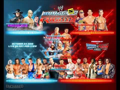 Bragging Rights 2010 Smackdown vs Raw Wwe Bragging Rights 2010 Full