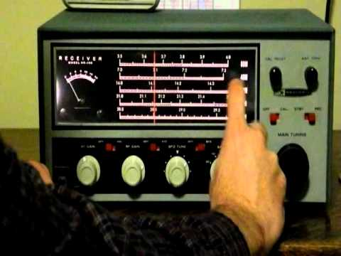 A Classic Ham Radio Receiver - The Heathkit HR-10B