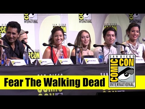 Fear the Walking Dead | Comic Con 2016 Full Panel (Cliff Curtis and Kim Dickens)
