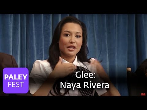 Glee - Naya Rivera Talks About Performing