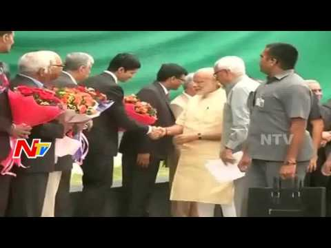 Modi Reaches to J&K's Katra | Modi Address at Shri Mata Vaishno Devi University Convocation | NTV