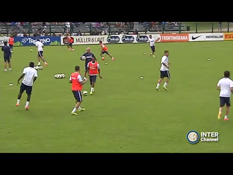 PINZOLO 2014 - ALLENAMENTO INTER REAL AUDIO 11 07 2014
