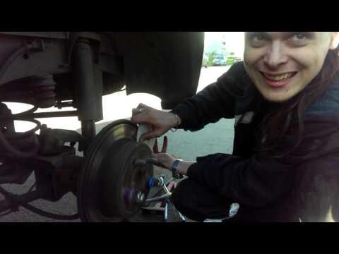 Как шлифовать тормозной диск своими руками 52