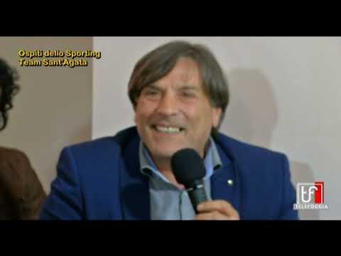 """VIDEO – Intervista a Mauro Romano. """"Lo Sporting Sant'Agata in Prima è un sogno realizzato"""""""