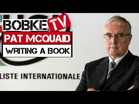 Pat McQuaid to come clean on cycling in his new book?