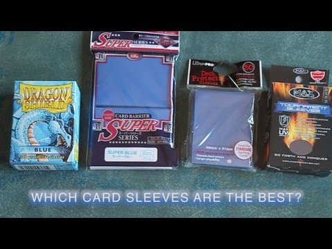 What Are The Best Card Sleeves For Magic The Gathering? Compare & Contrast MTG
