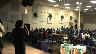 Pastor Audalus Estime - 4th Annual Praise and Worship Convention at Maranatha. part 6