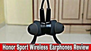Best Bluetooth Wireless Earphones Unboxing & Review | Honor Sport Bluetooth Earphones