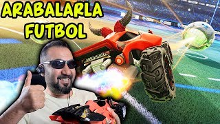 ARABALARLA FUTBOL OYNAMAK! | EMİRHAN İLE ROCKET LEAGUE