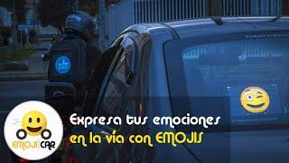 Comunicación con emojis en la vía - Emoji Car