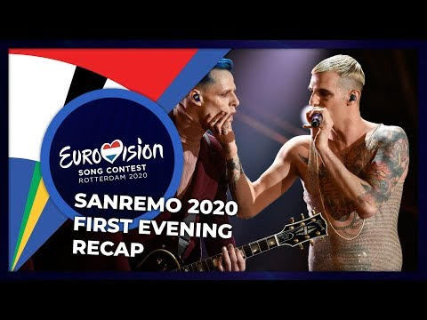 Sanremo 2020 (Italy) | First Evening | RECAP
