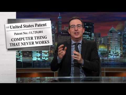 Last Week Tonight with John Oliver: Patents [HBO]