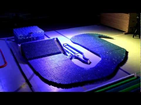 125,000 Dominoes - Inventions - CDT 2010 (HD)