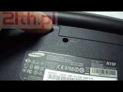 How to replace keyboard in Samsung N145 N148 N150 N151 NB30