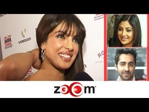 Planet Bollywood News - zoOm reveals Priyanka's groom, Shilpa Shetty & Farah Khan at an exhibition & more news
