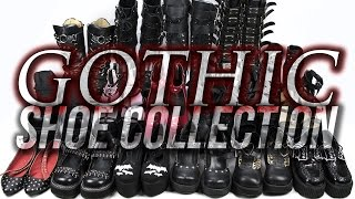Gothic/Alt Shoe Collection 2016